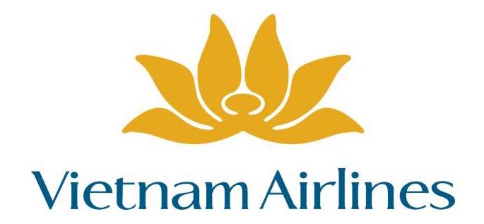 Logo Vietnam Airline được thiết kế với màu vàng chanh đậm