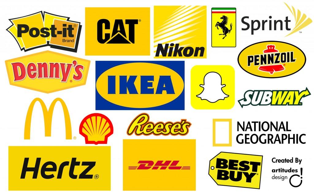 Thiết kế logo màu vàng làm chủ đạo có nên hay không ?