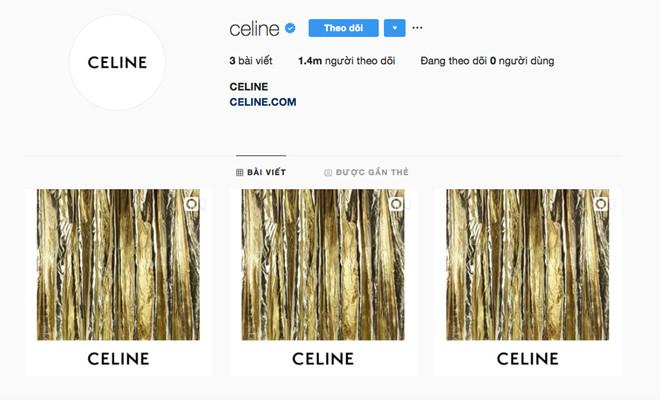 Den luot Celine thay doi logo, xoa sach hinh anh tren Instagram hinh anh 1
