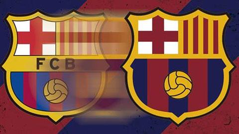 Barca tung bản thiết kế logo mới
