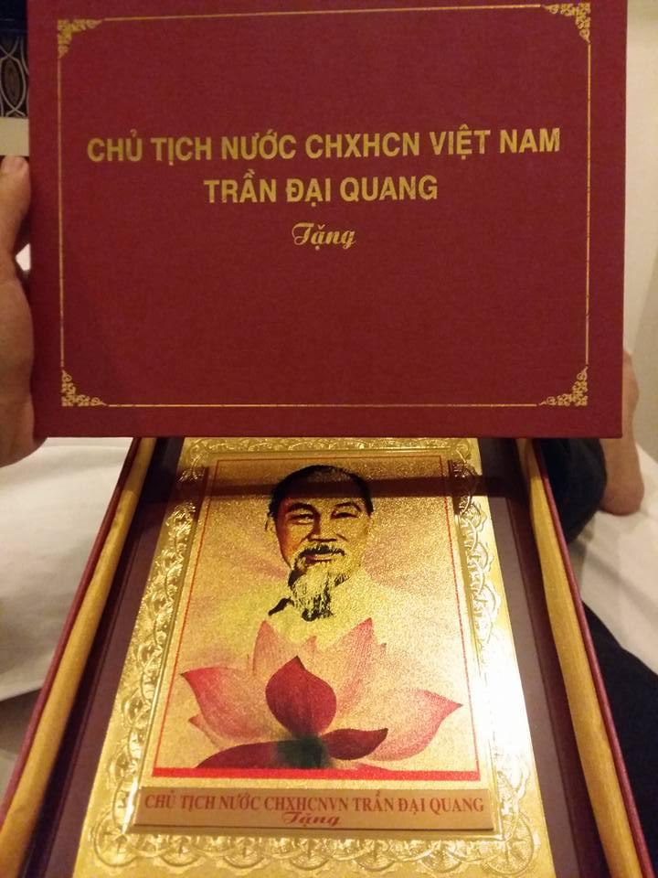Món quà của chủ tịch nước Trần Đại Quang